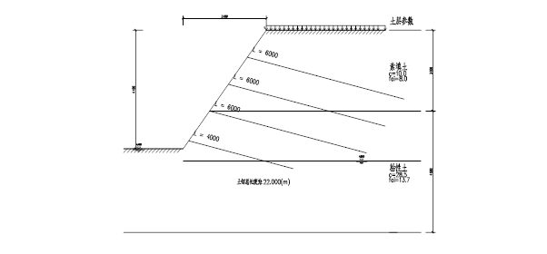 土钉墙基坑支护设计方案_1