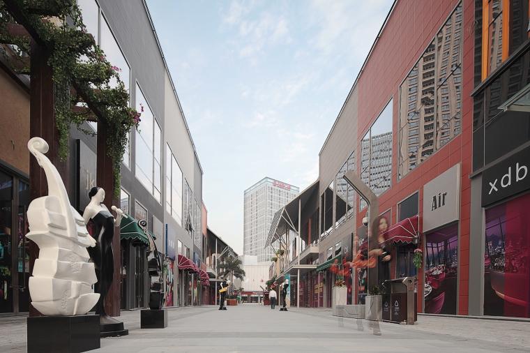 万达广场购物中心室内设计施工图(附效果图)-1 (3)