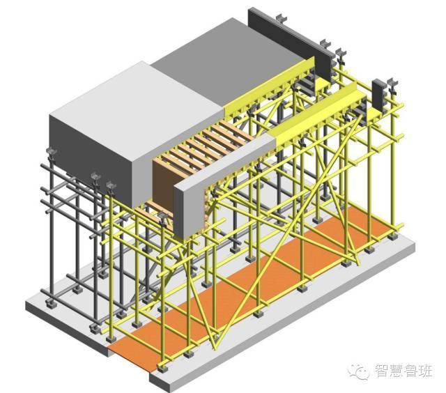 问|后浇带处怎么干就是模板及支架独立设置了?