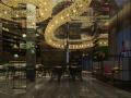 [新疆]富有文化气息而又时尚鲜活的餐厅设计施工图(含效果图)