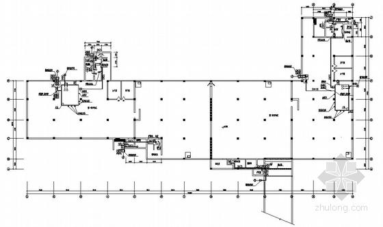 某地下车库(含人防)工程给排水设计图