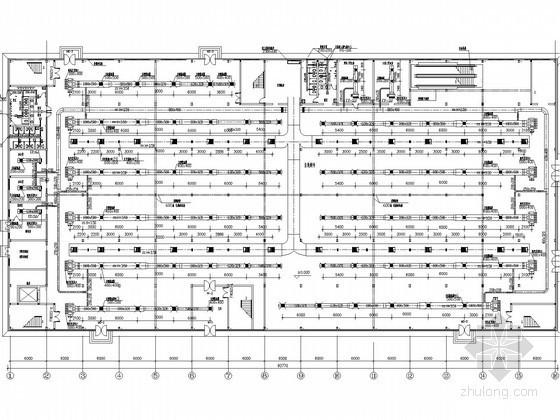 [北京]小型商场超市建筑空调及通风系统设计施工图