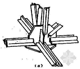杆件与焊接钢板节点的连接