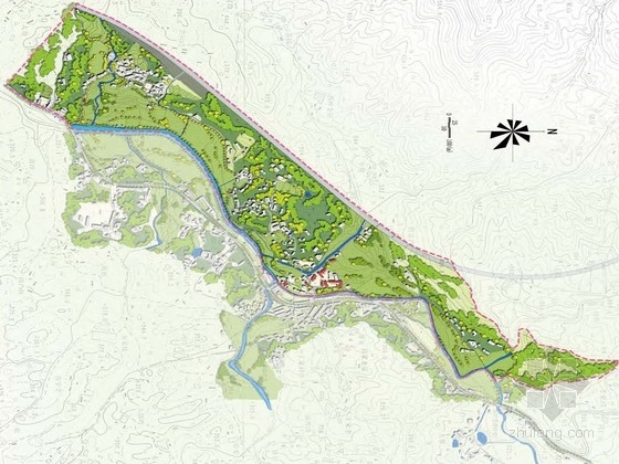 [安徽]滨河乡土文化村落改造景观设计方案