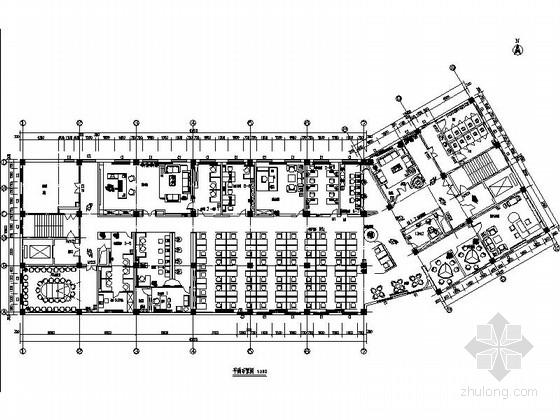 [河北]汽车集团现代风格办公楼装修施工图(含效果)