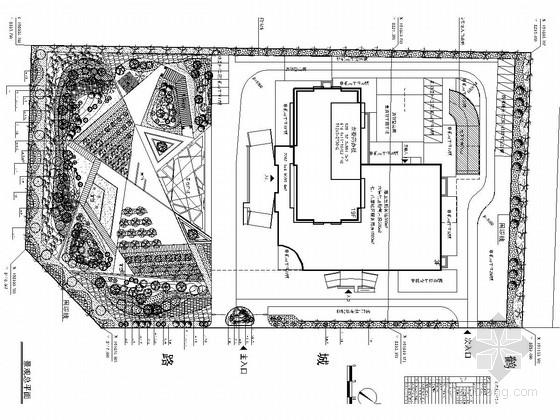 [江苏]商务办公楼酒店广场景观设计施工图