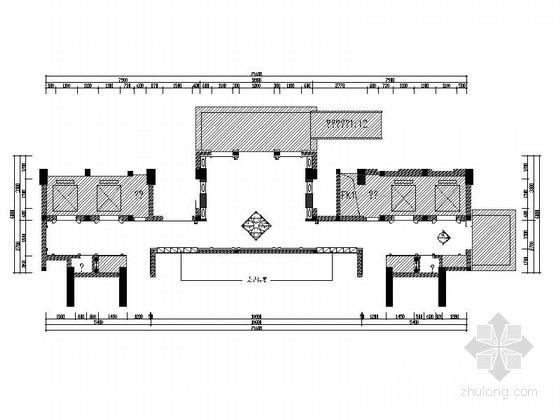 [晋江]某大型商场电梯间设计4套CAD施工图