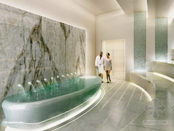 美国度假酒店室内设计方案图(英文版)