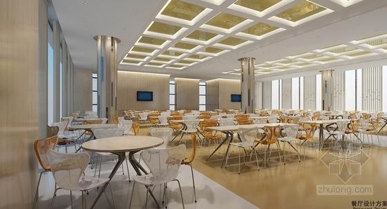 [苏州]国际公司现代办公及实验室室内设计方案