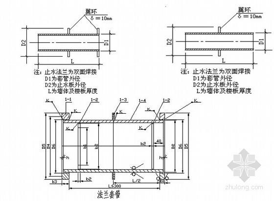 [北京]知名医院改扩建工程给排水施工方案(压力排水)