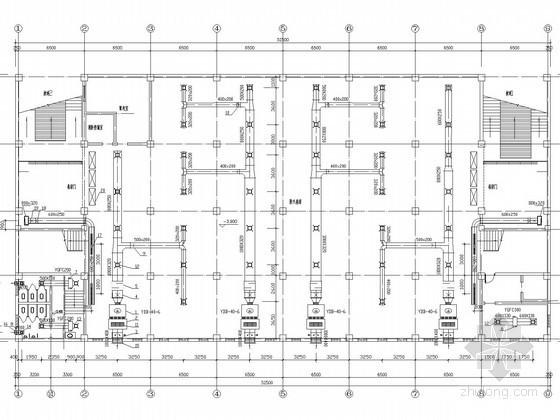 中型商场中心建筑中央空调工程系统设计施工图
