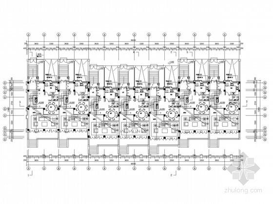 [辽宁]高端体育公园别墅社区全套电气施工图纸102张(含部分水暖图纸)