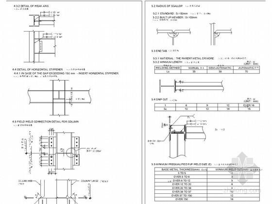 中英文钢结构设计说明