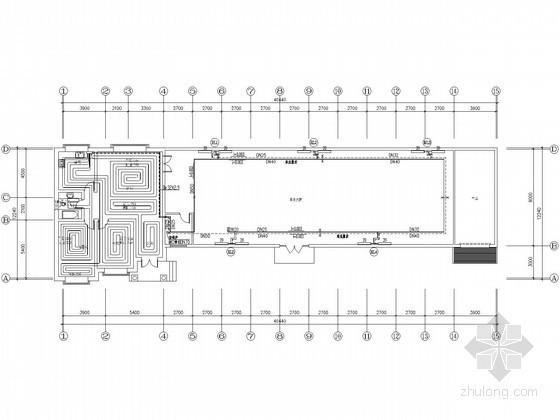[山西]生态园大棚水暖设计施工图