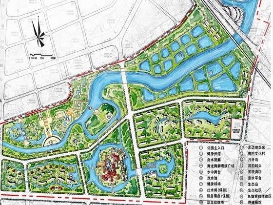 [广西]缤纷多彩滨水百里景观长廊景观规划设计方案
