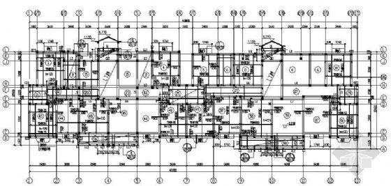 某多层混合结构住宅楼详细结构图纸