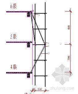 河南省某高层建筑脚手架施工方案