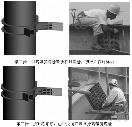 高层办公楼钢结构高强螺栓施工工艺