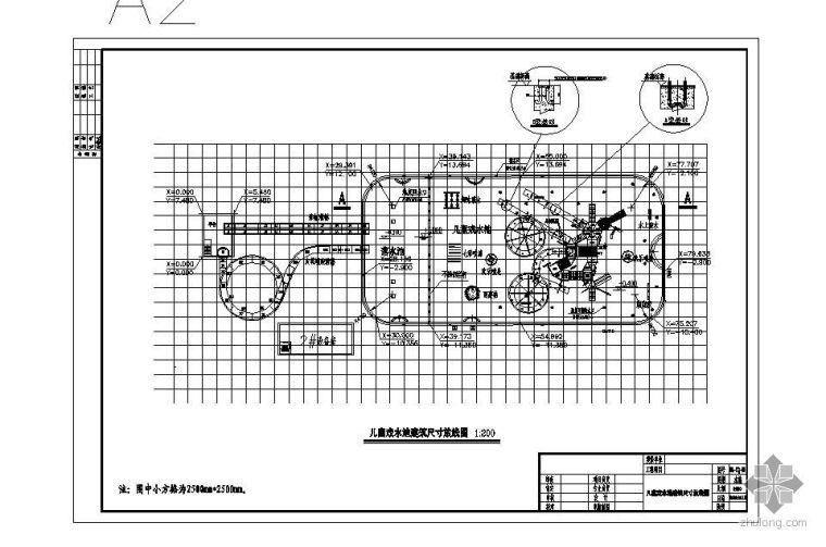 郑州某水上乐园项目给排水图纸