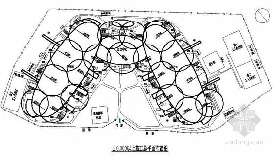 [福建]国际会展中心土建、水电安装施工组织设计(中建)