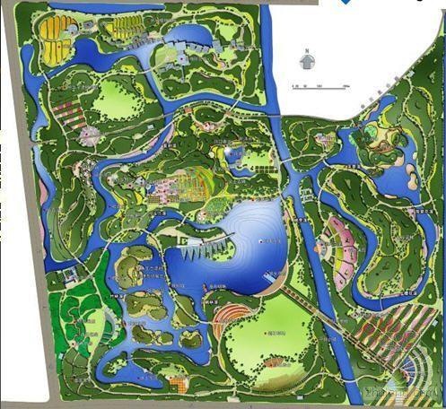 上海公园规划方案设计