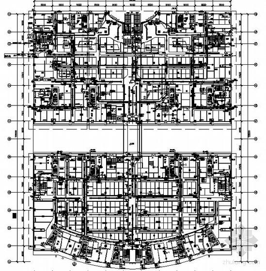 某商场空调平面图
