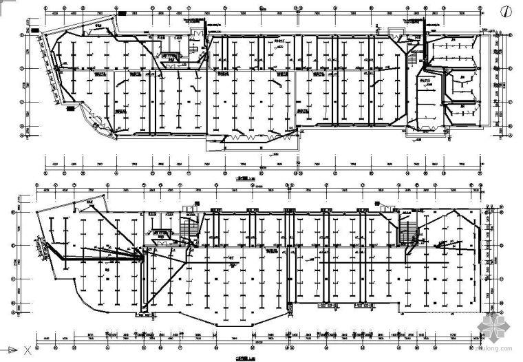 某三层超市电气设计图