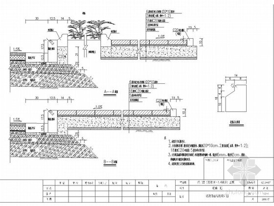 国道连接线道路施工图84张(含后张法空心板桥)