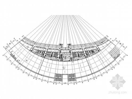 [浙江]大型体育场建筑全套电气施工图纸