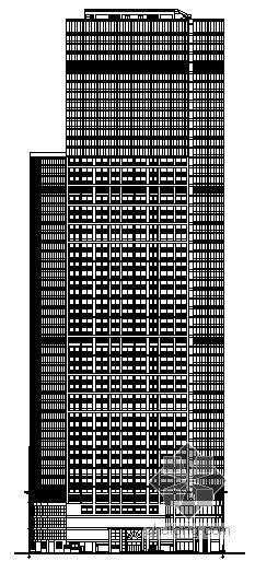 [深圳市]某五十四层超高层商办大厦建筑施工图