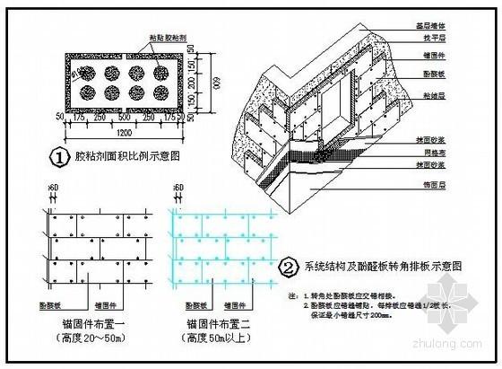 酚醛板外墙外保温系统节点图集及做法说明