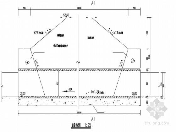 农村小型渠道整治工程施工图纸