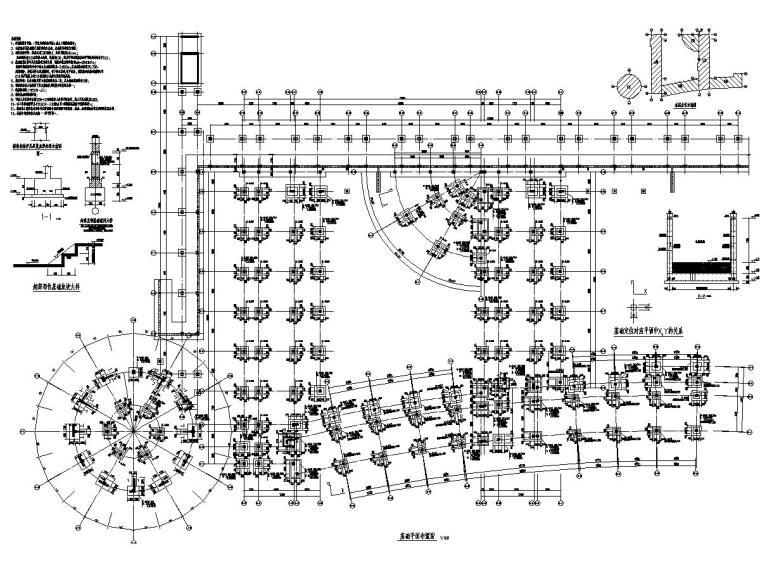 [山东]地上五层框架结构教学楼结构施工图(含计算书)