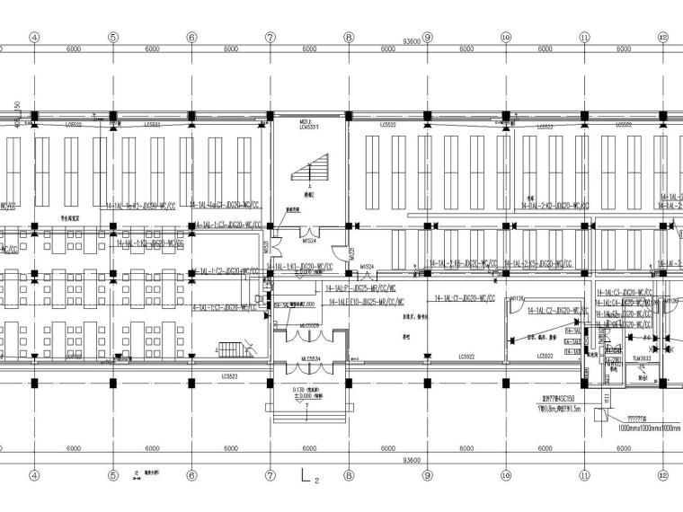 [山西]重点中学新校区建筑群全套强弱电图纸(13栋楼、311张)_5