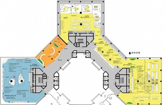 [上海]中国外资通信行业展示体验中心设计方案(展示方案创新  !)