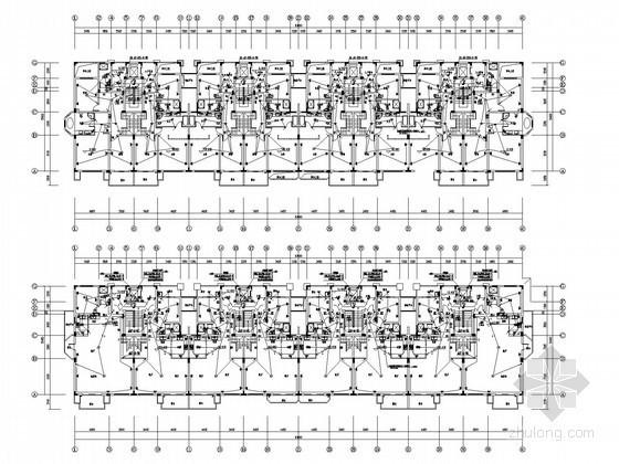 [浙江]最新知名综合商住楼强弱电系统电气图194张(含30页设计文案 效果图)