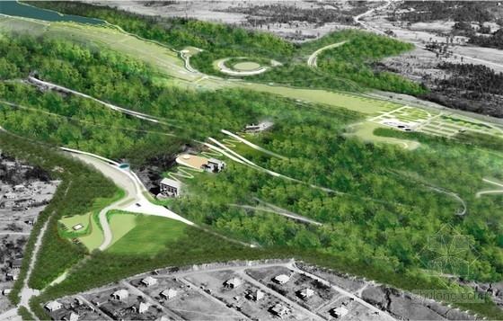 [国外]山体公园景观主体规划设计方案