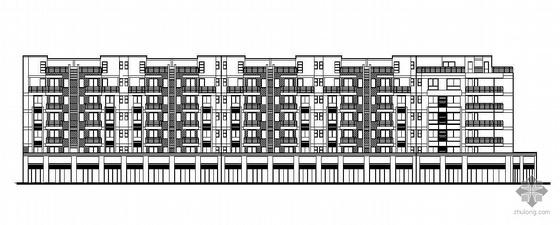 [成都温江区]某6+1层底商住宅楼建筑施工图