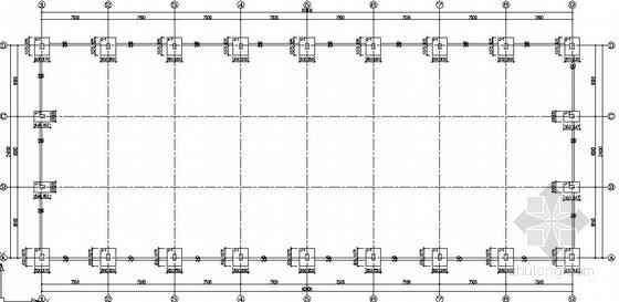 门式刚架成品仓库结构施工图