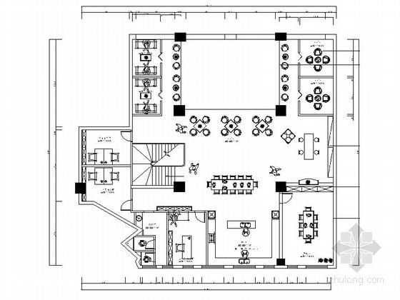 [株洲]复古简欧酒庄设计CAD施工图