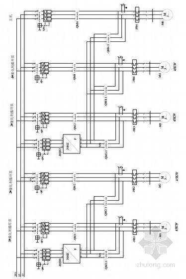 知名厂家设备二次回路原理图控制图(变频柜低压柜电源柜DCS柜)
