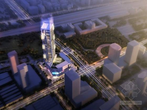[河北]49层超高层商业综合体建筑方案文本
