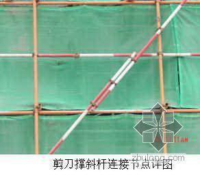 珠海某高层住宅工程脚手架施工方案(附照片计算书)