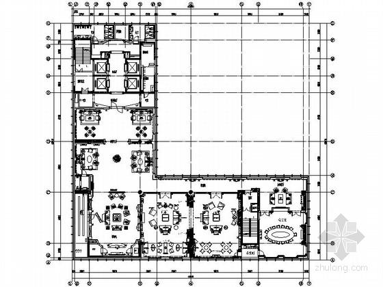 某公司豪华会所大堂室内装修图(含实景)