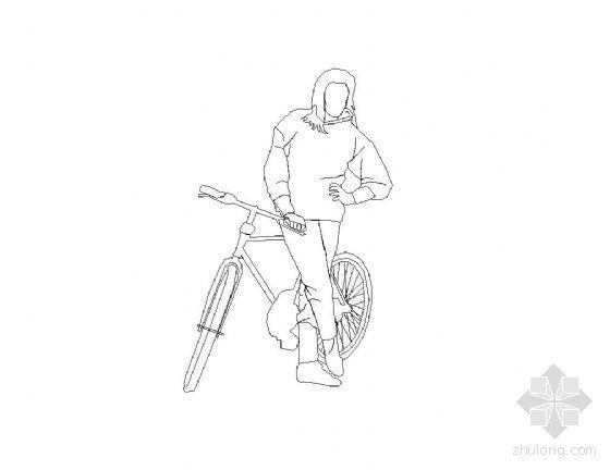 CAD人物图块