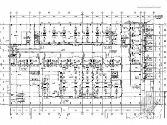 [上海]多层厂房改造空调通风及防排烟系统设计施工图(大院设计 地源热泵)