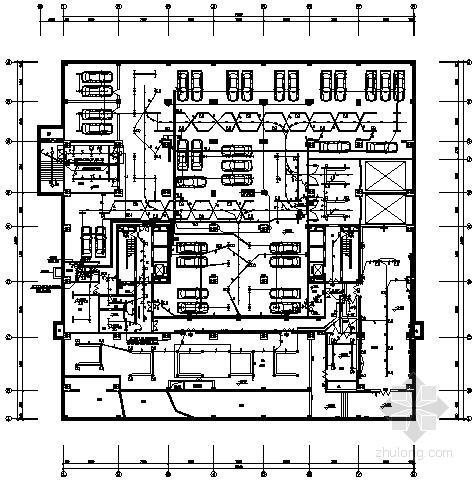 一类综合性高层建筑全套电气施工图纸(含负荷计算书、照度计算书)
