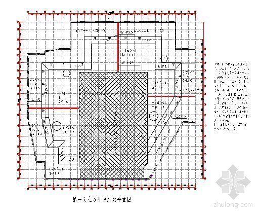 上海某超高层综合楼裙房逆作地下施工方案