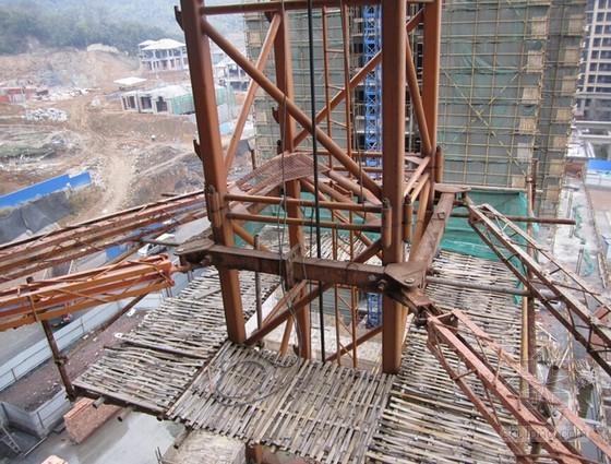 [QC成果]提高塔吊超长附着杆件安装合格率