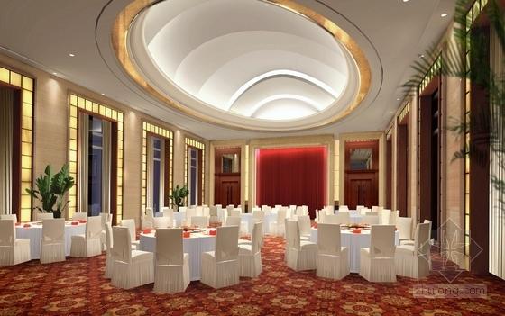 [宜昌]01经济开发区核心地带五星级商务酒店方案设计 宴会厅